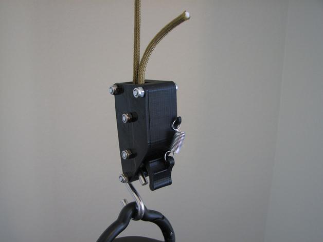 棘轮滑轮组 3D打印模型渲染图