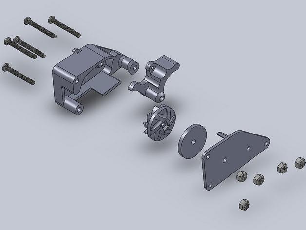 棘轮滑轮组