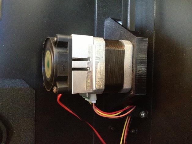 双挤出机3D打印机Y轴电动机固定架