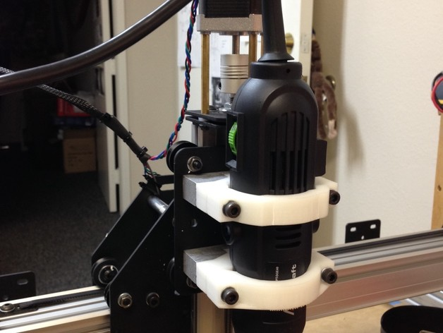 Shapeoko 2电动工具架 3D打印模型渲染图