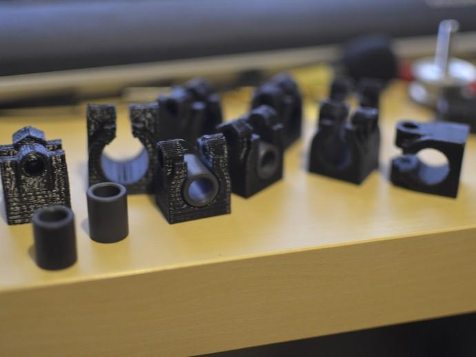 改良版夹持器 3D打印模型渲染图