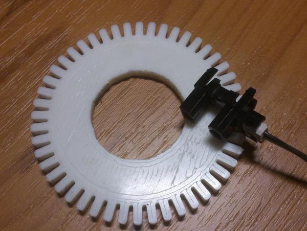 Rpm 轮盘 3D打印模型渲染图