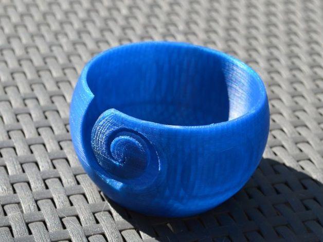 纺织 纱碗 3D打印模型渲染图