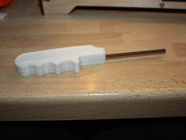 锯条把手 3D打印模型渲染图