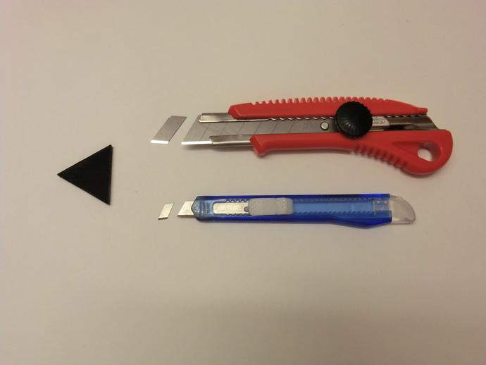 美工刀刀片更换装置 3D打印模型渲染图