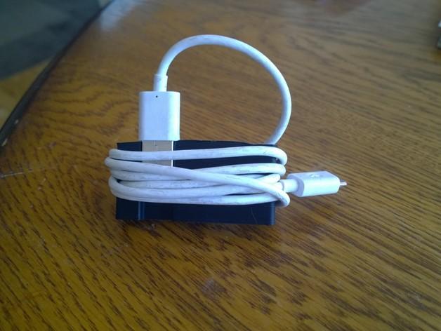USB线缆收纳架 3D打印模型渲染图