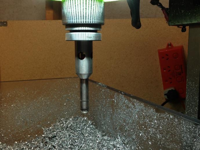 G0704/TM20VL铣床主轴LED照明环