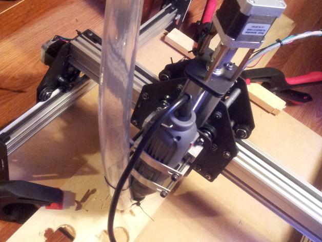 Shapeoko2电动工具零部件 3D打印模型渲染图