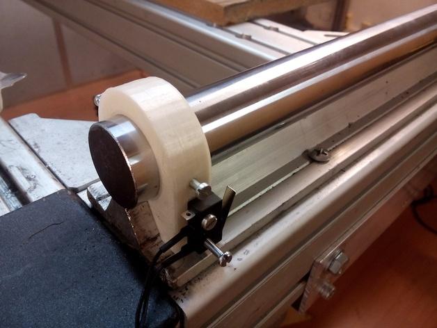 线性导轨 终点挡板 固定夹 3D打印模型渲染图