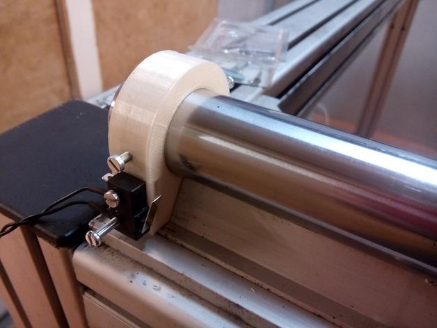 线性导轨 终点挡板 固定夹