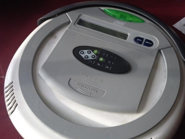 智能自动吸尘机  刷子