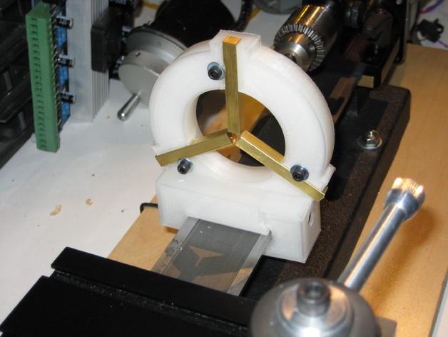 Sherline车床中心架 3D打印模型渲染图