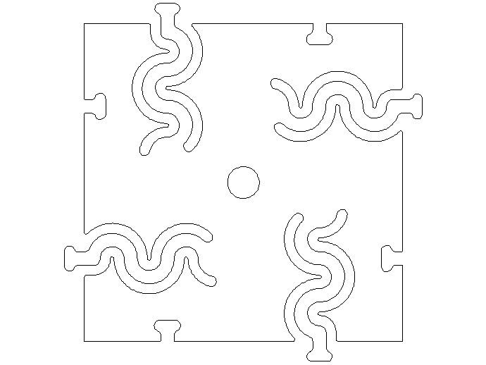 胶合板板条 连接接头
