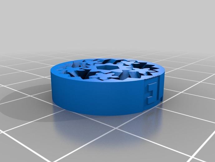 齿轮轴承  3D打印模型渲染图