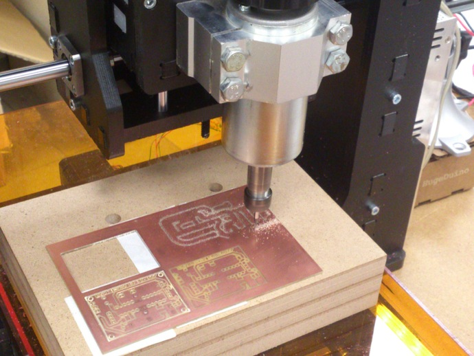 台式铣床 3D打印模型渲染图