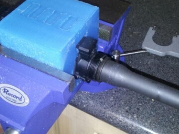 AR接收机保护套 3D打印模型渲染图