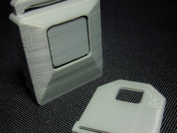 安全带扣环  3D打印模型渲染图