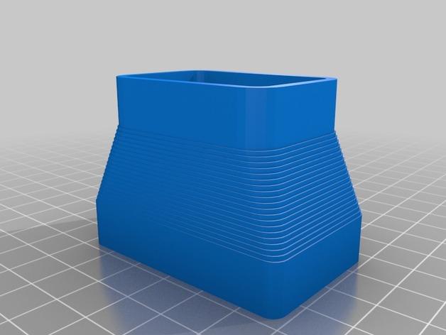 定制化方形管道配适器