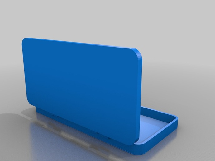 文具盒 3D打印模型渲染图
