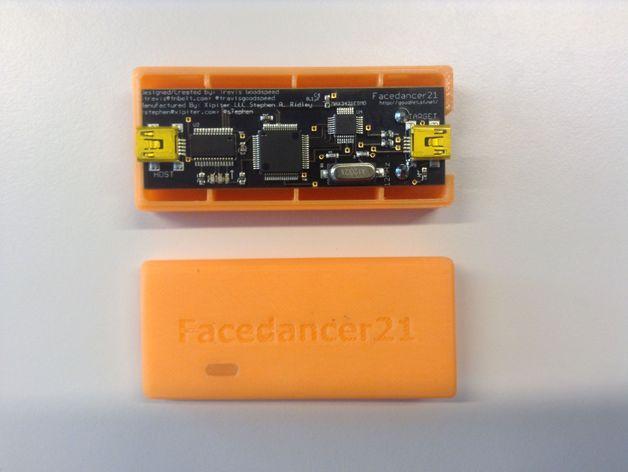 FaceDancer21电路板 外壳