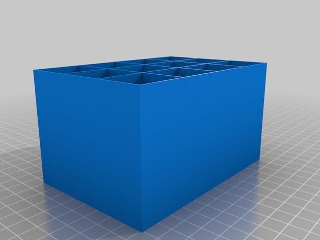 定制化迷你储物柜 3D打印模型渲染图
