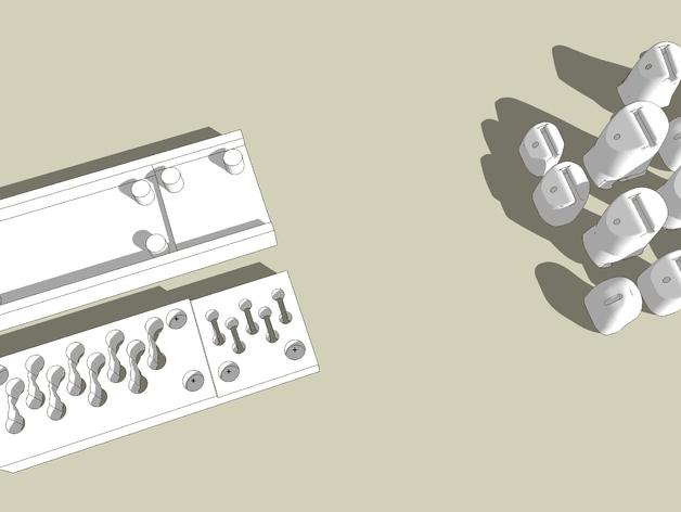 机械手手指铸件