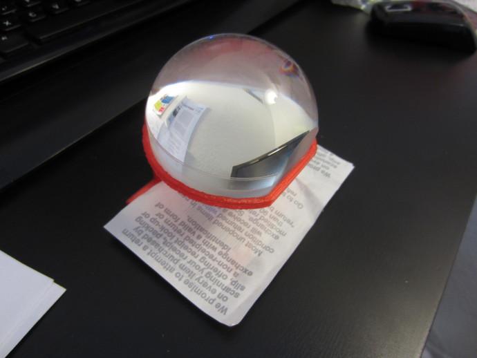 球形3X放大镜 支架