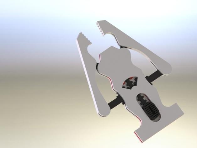 夹具/夹钳 3D打印模型渲染图