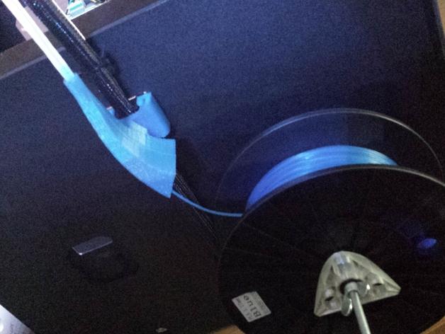 线材引导装置 3D打印模型渲染图