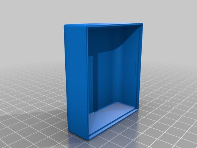 带槽口的小盒