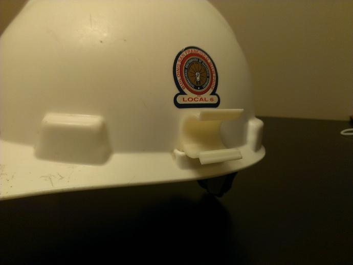 安全帽 手电筒固定夹