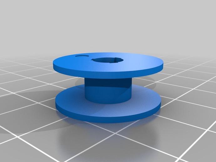 缝纫机 线轴 3D打印模型渲染图