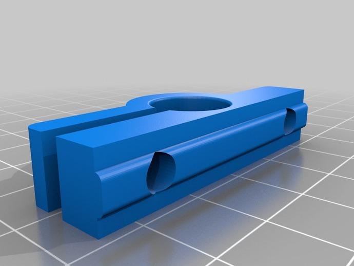 导杆 支架 3D打印模型渲染图