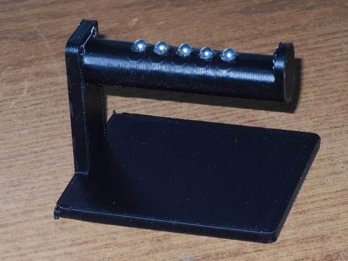 焊料卷轴架