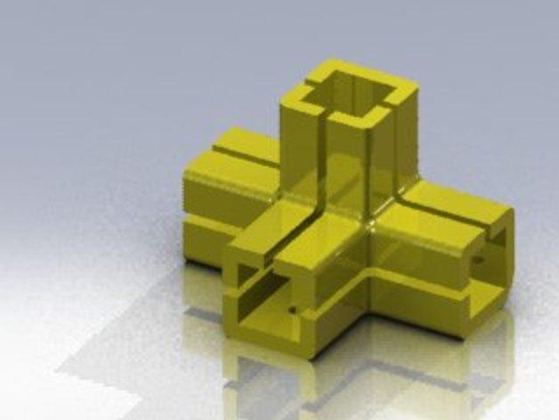 连接头 3D打印模型渲染图