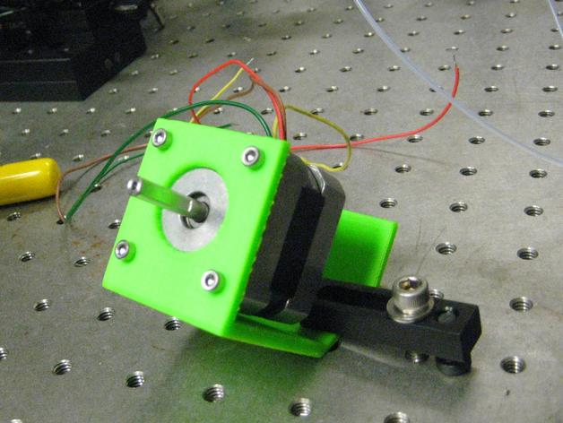 Nema 17步进电机固定夹 3D打印模型渲染图
