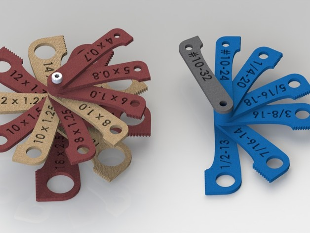 螺纹量规 套件 3D打印模型渲染图