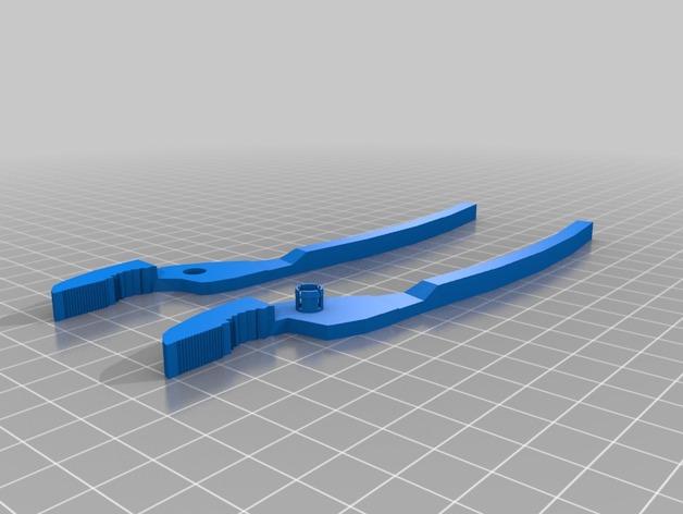 老虎钳 3D打印模型渲染图