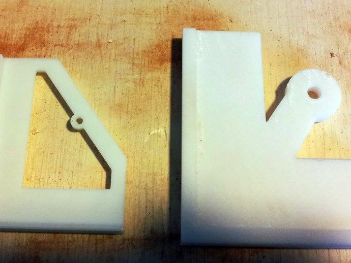 定制化钻孔样板 3D打印模型渲染图