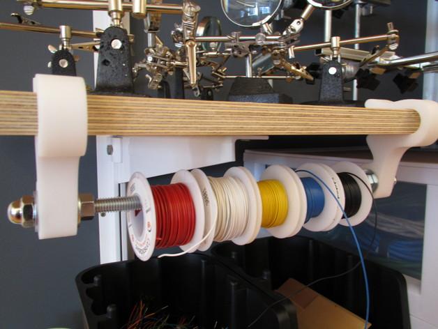 线轴固定夹 3D打印模型渲染图