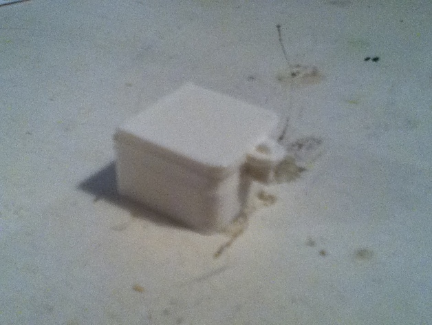 铰链 小盒 3D打印模型渲染图
