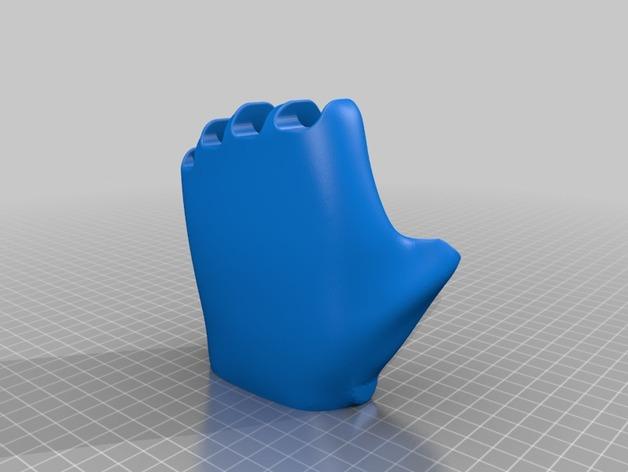 可弯曲的手   模型 升级版