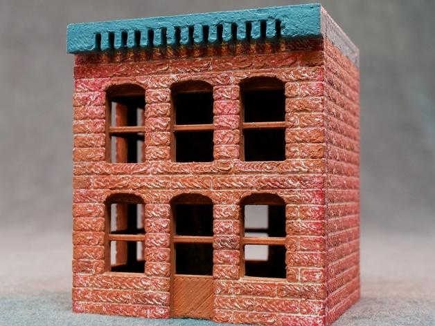 模数法建筑