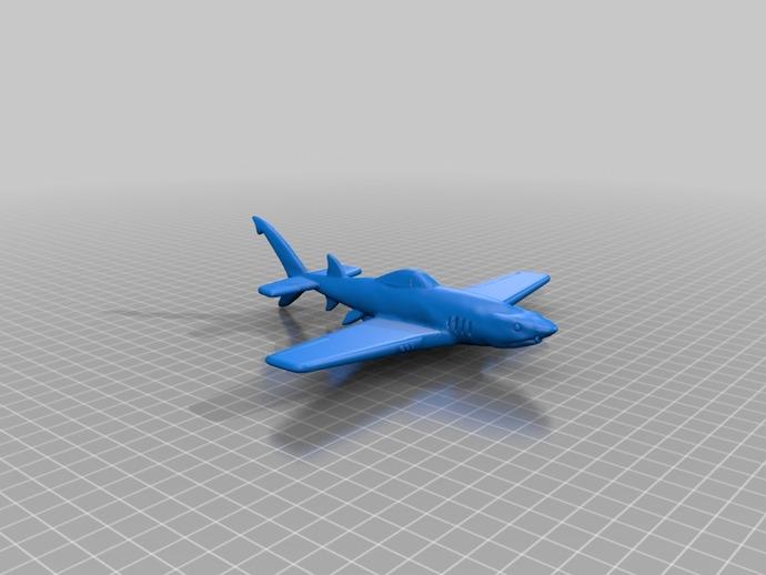 UW-33鲨鱼战斗机