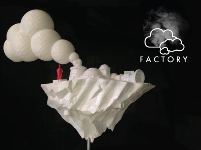 云 工厂  3D打印模型渲染图