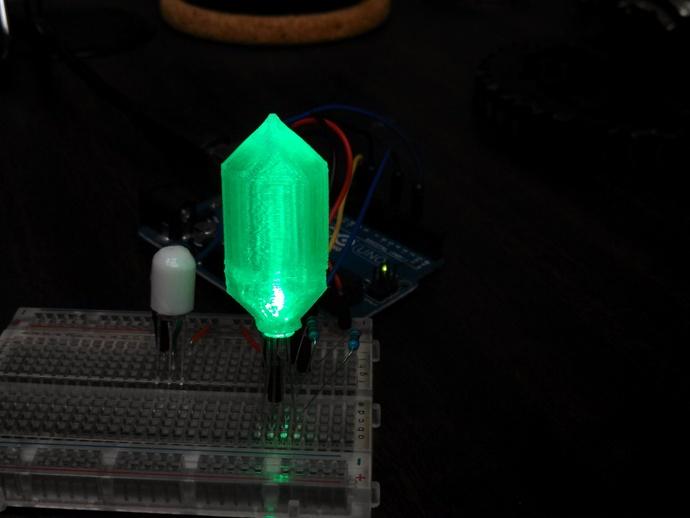 LED灯 灯罩 3D打印模型渲染图