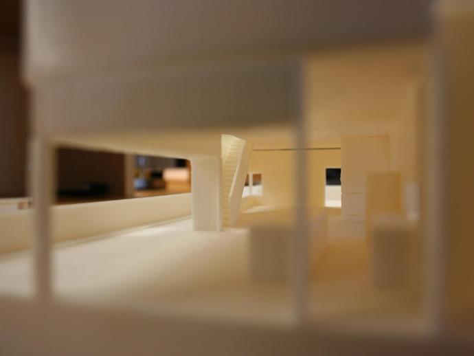 澳洲联储大厦模型