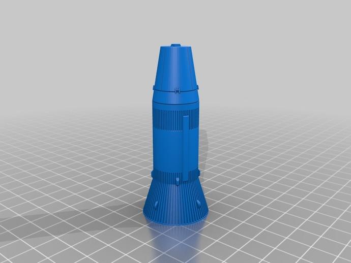 土星5号运载火箭 模型