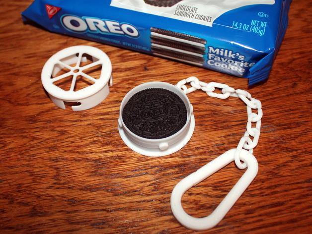 奥利奥饼干盒 3D打印模型渲染图