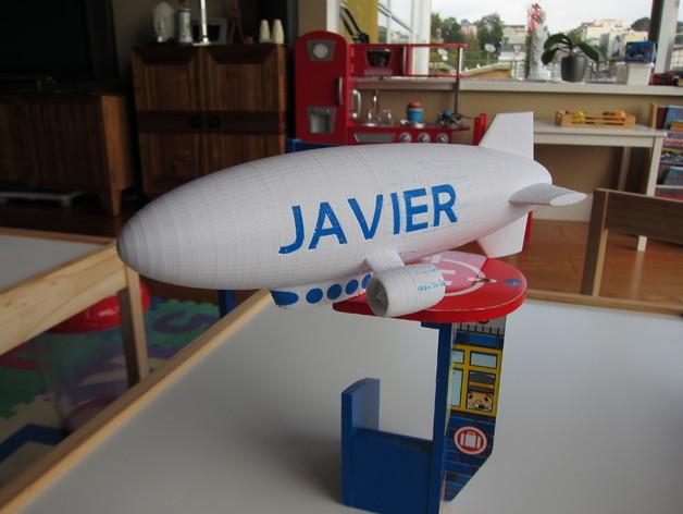 定制化小型飞船  3D打印模型渲染图